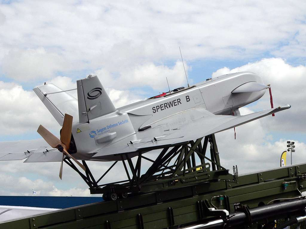 Le Sperwer B, un drone made in France