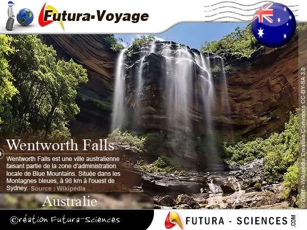 Wentworth Falls - Montagnes bleues Australie