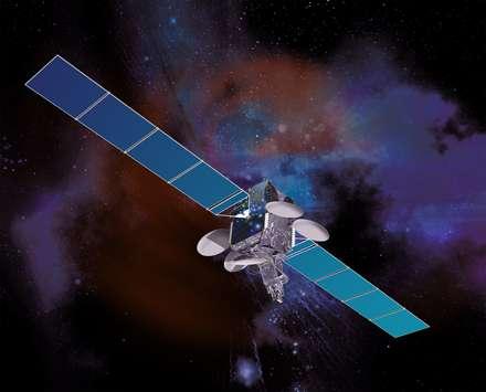 Intelsat-19, dont le lancement a été réussi, doit remplacer le satellite Intelsat-8 (à l'image). © Space Systems/Loral