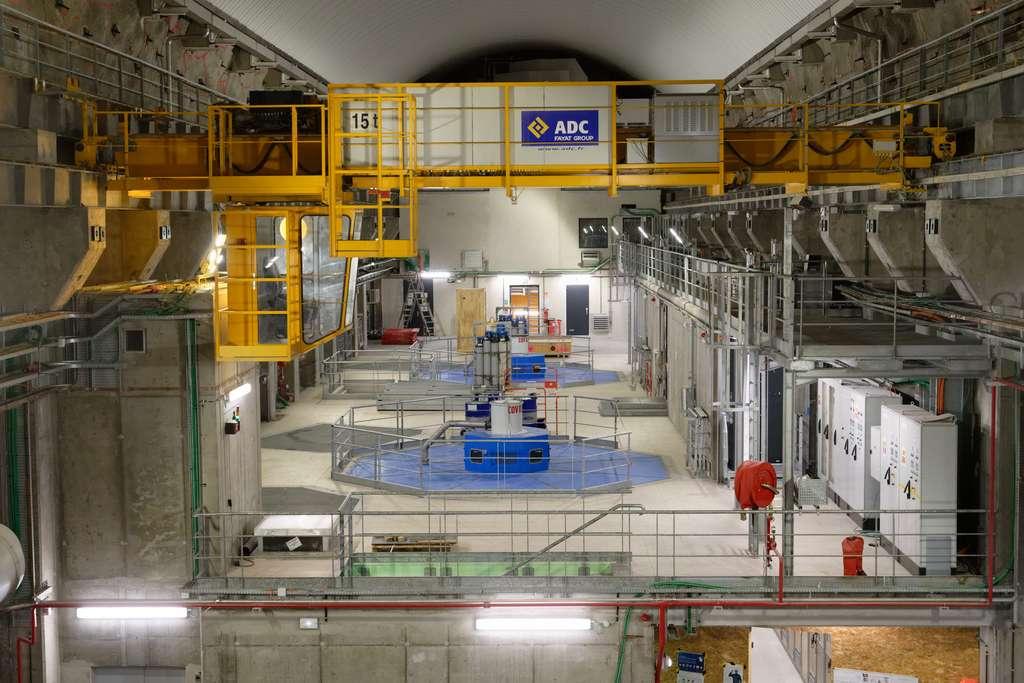 La centrale hydroélectrique de Gavet, entièrement souterraine, est le plus grand chantier hydraulique de France. © Christophe Huret, EDF