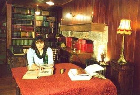 Un endroit idéal de lecture © Photo Dominique Felga