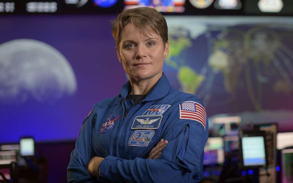 Anne McClain © Nasa