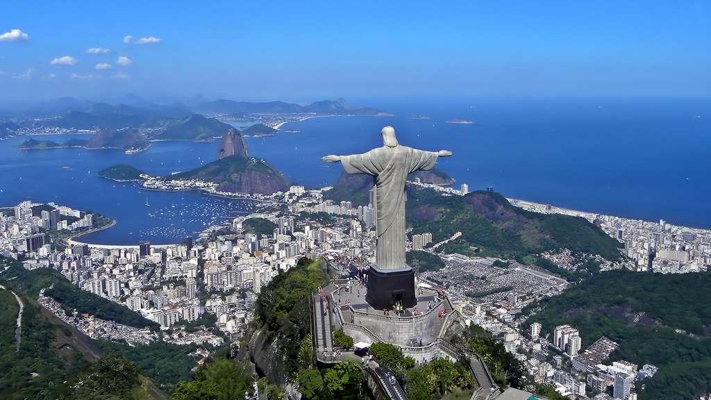Le Christ rédempteur, gardien de la baie de Rio