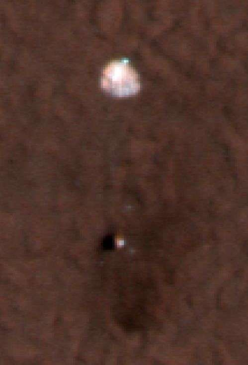 Phoenix vu depuis l'orbite