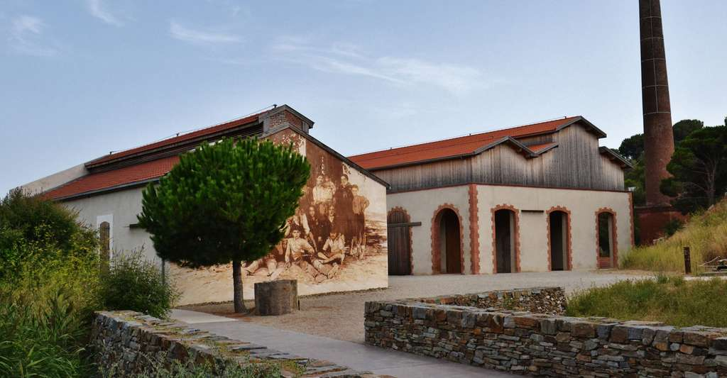 Le site réhabilité de l'ancienne dynamiterie de Paulilles, à Port-Vendres, dans les Pyrénées-Orientales. © Babsy, Wikimedia Commons, CC by-sa 3.0
