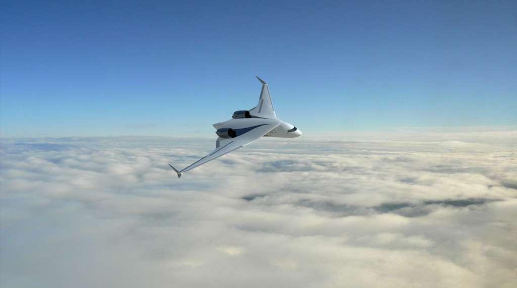 L'avion disposerait d'une autonomie de 2.200 km. © Akka Technologies