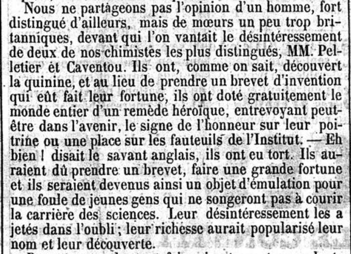 Le Constitutionnel, 12 août 1845. Source : gallica.bnf.fr, BnF