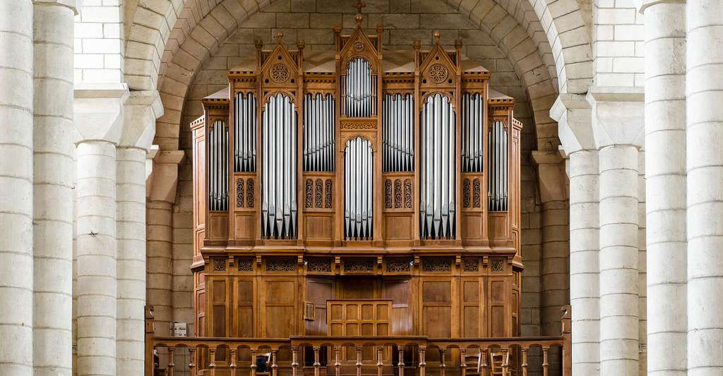 L'orgue de l'église saint Hilaire-le-Grand à Poitier. © Arseni Mourzenko, Wikimedia commons, CC by-sa 4.0