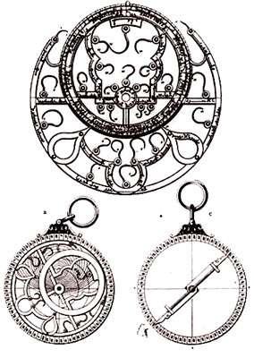 Astrolabe arabe du XIIè