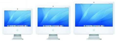 Tous les nouveaux iMac sont dotés d'un processeur Core 2 Duo d'Intel, aux performances excellentes.