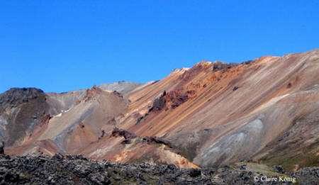 Les couleurs de Landmannalaugar. © Claire König