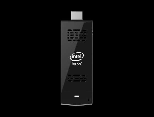 Google n'est pas le seul à proposer un ordinateur sur clé HDMI. Intel s'apprête à commercialiser son Compute Stick qui sera décliné en deux modèles compatibles avec Windows 8.1 ou Linux. © Intel