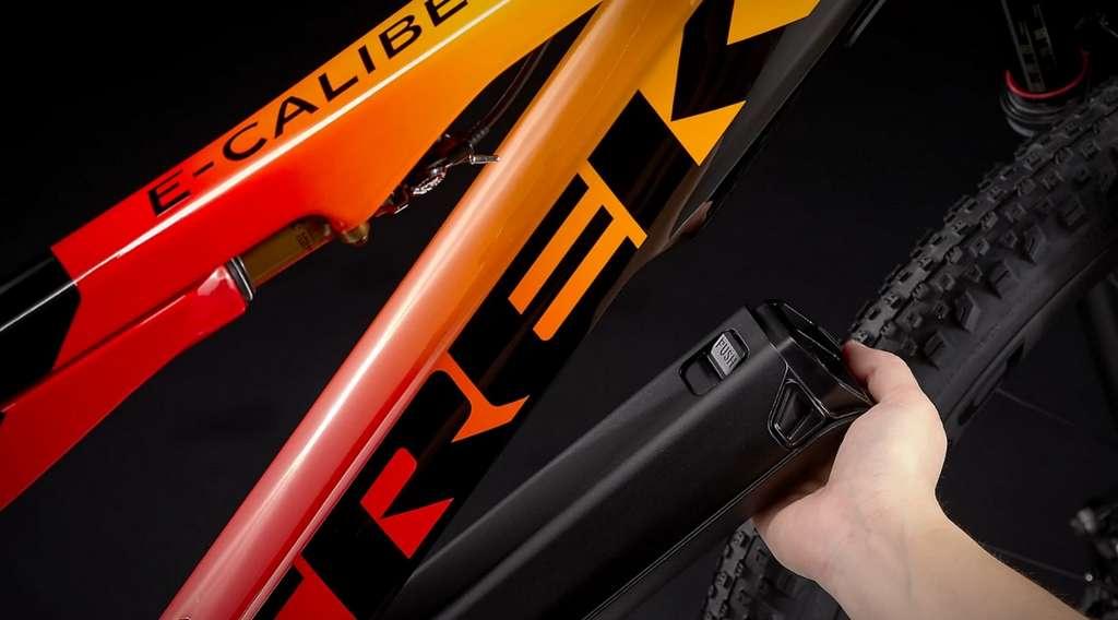 Le module batterie-moteur détachable Fazua Evation. © Trek
