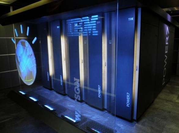 IBM veut récolter les fruits de son savoir-faire avec Watson en en faisant la clé de voûte d'une infrastructure de cloud computing qui sous-tendra toute une gamme d'applications cognitives dans divers domaines comme la santé, la finance ou l'éducation. Récemment, le superordinateur a commencé à apprendre le japonais. © IBM