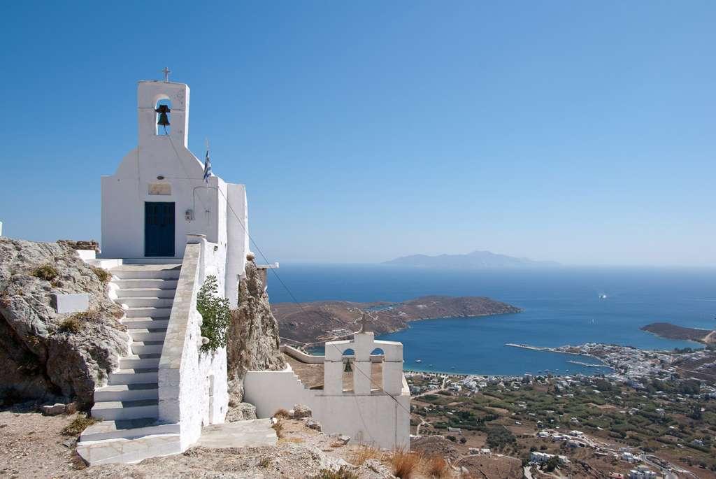 Église à Sérifos, dans l'ouest de l'archipel. © Leenders, cc by nc 2.0