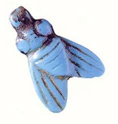 Amulette en forme de mouche, Egypte ancienne (époque indéterminée). Reproduction et utilisation interdites
