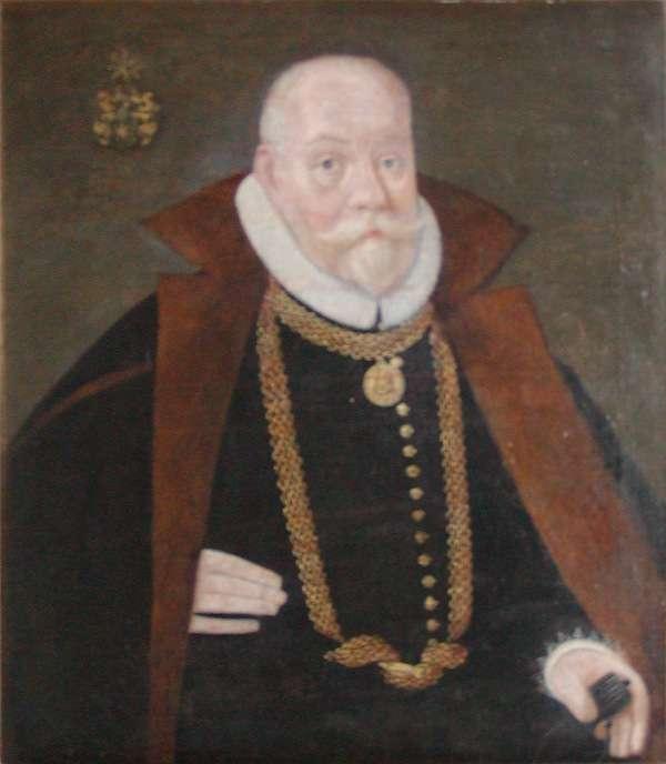 Un portrait de Tycho Brahe (1546-1601). © Domaine public, Wikipedia