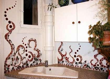 La mosaïque permet tous les styles ! © creation.ceramique.free.fr