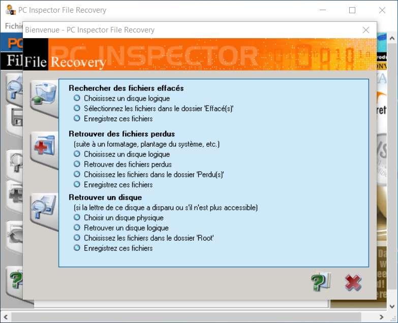 PC Inspector File Recovery 4.x permet de récupérer les fichiers de partitions que Windows ne peut plus détecter. © Convar