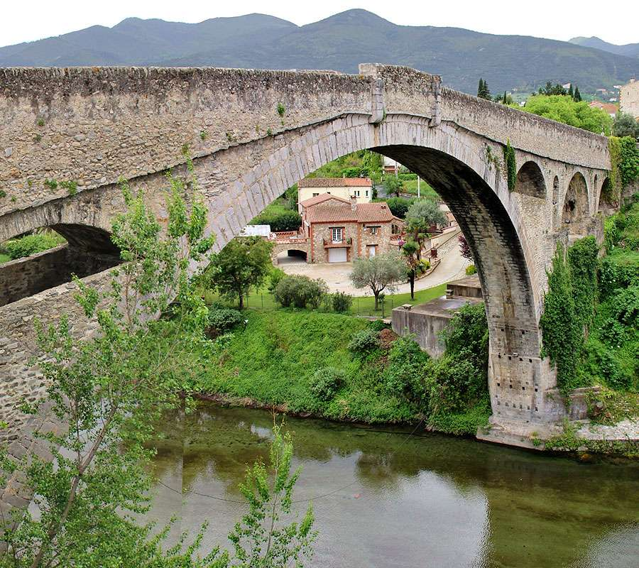 Le pont du Diable, à Céret. © Tubamirum, Wikimedia Commons, CC by-sa 3.0
