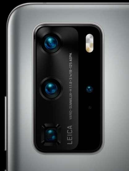La version haut de gamme de la série P dispose de deux téléobjectifs qui, en s'associant, seraient capables de grossir x100. © Huawei