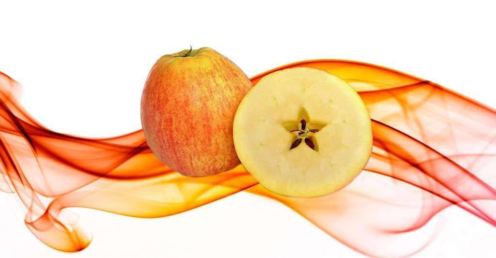 Cœur de pomme, le triangle d'or. © Pexels, CCO