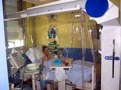 La technologie spatiale va aider les hôpitaux à contenir la propagation de la grippe aviaire : la technologie spatiale à l'œuvre en unité de soins cardiologiques (crédit : AirInSpace)