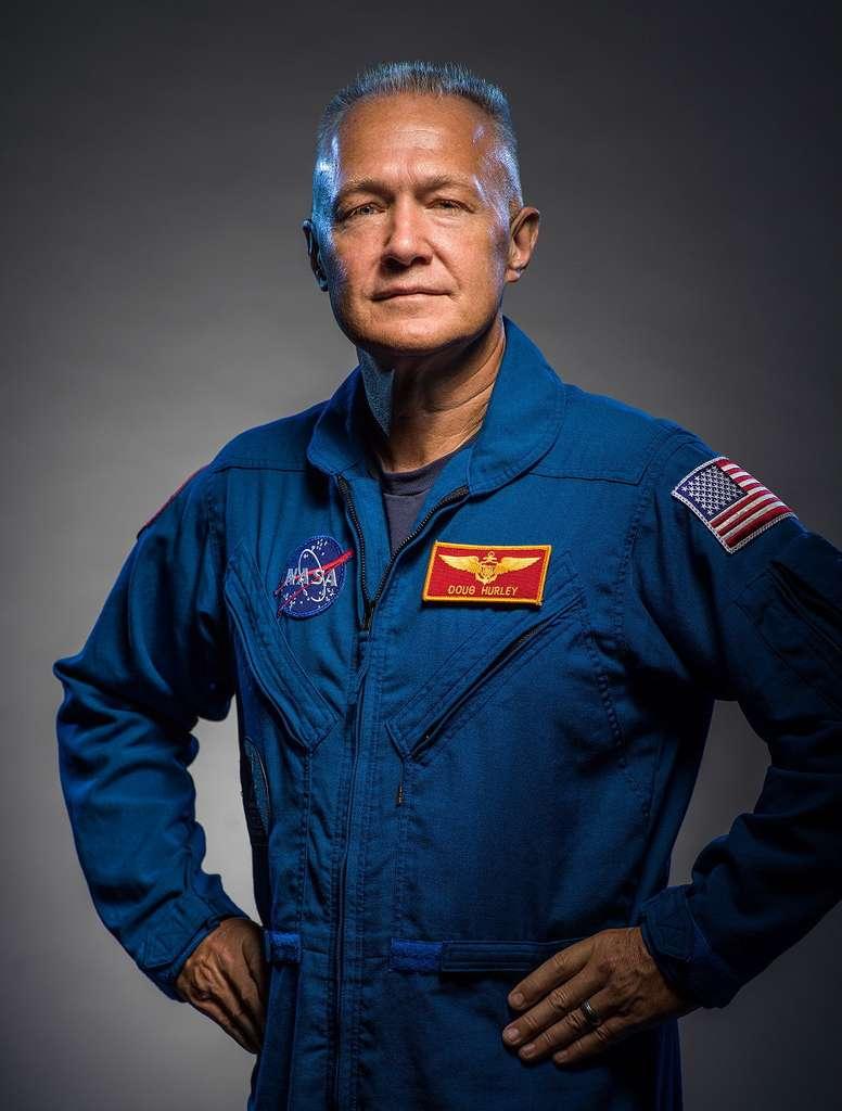 Douglas Hurley sera l'autre astronaute à bord du Crew Dragon qui décollera ce 27 mai du Centre spatial Kennedy (États-Unis). © Nasa