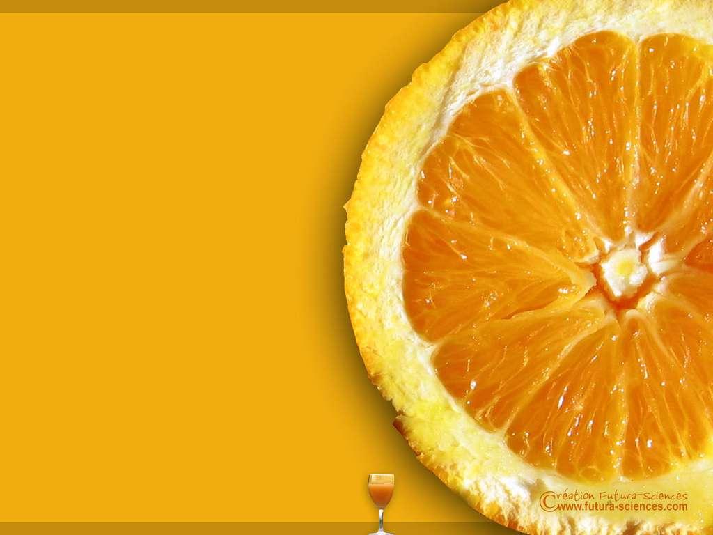 Eté, orange pressée
