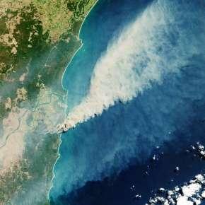 Feux de forêt australiens 2019. © ESA, CC by-sa 3.0 IGO