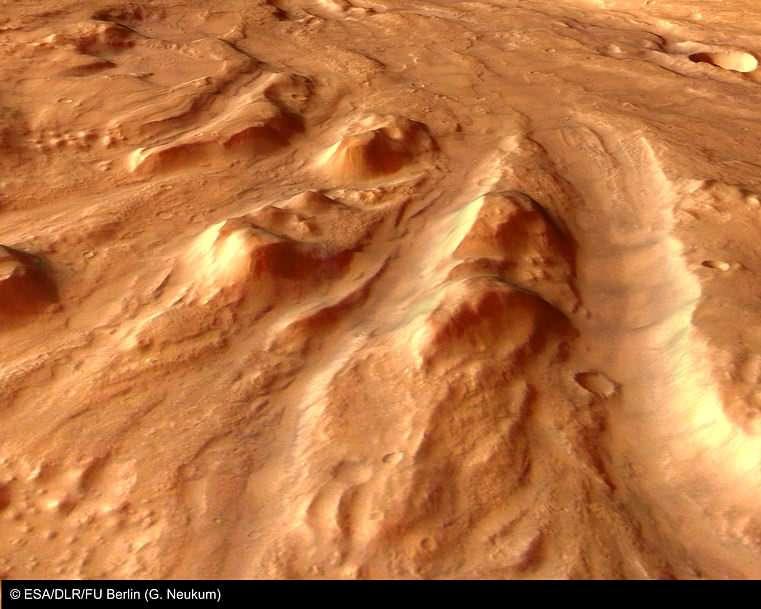 Ares Vallis : ancien déluge d'eau liquide !