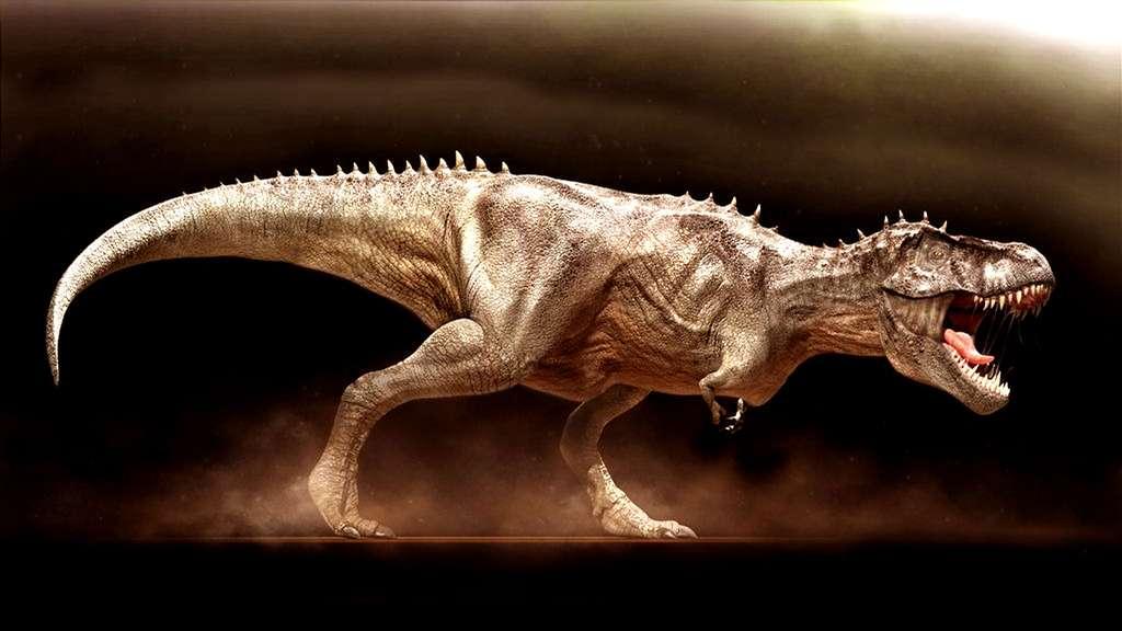 Le T-rex, un prédateur… lent
