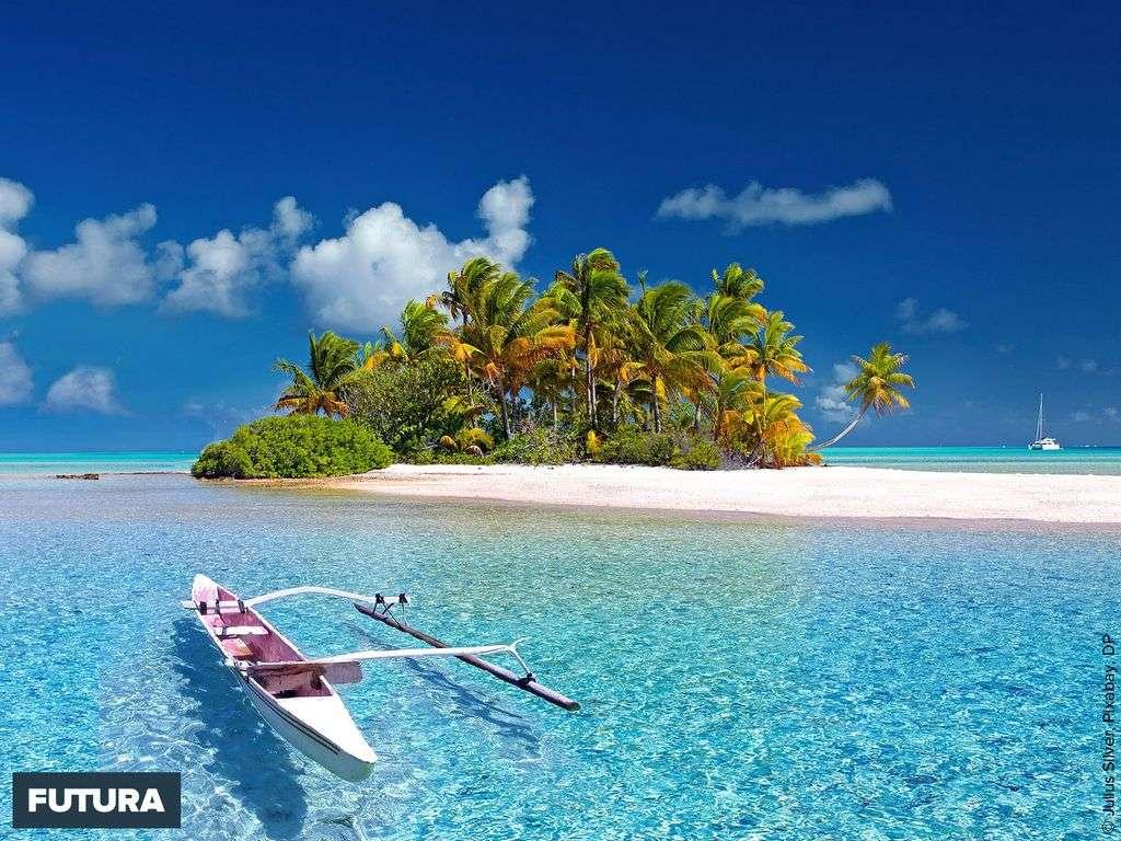 Sable blanc, mer turquoise c'est la Polynésie !