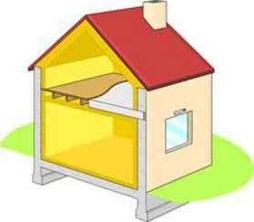 Traiter les ponts thermiques dans une maison permet d'obtenir une enveloppe du bâti performante, et par conséquent de réduire les déperditions énergétiques de manière drastique. © Isover