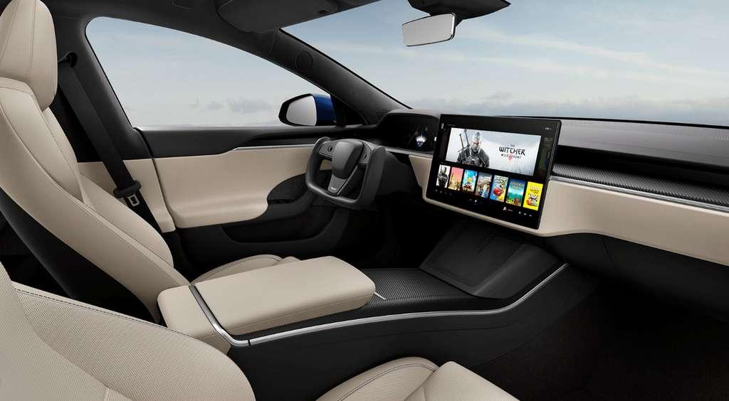 Tesla Model S Plaid. © Tesla
