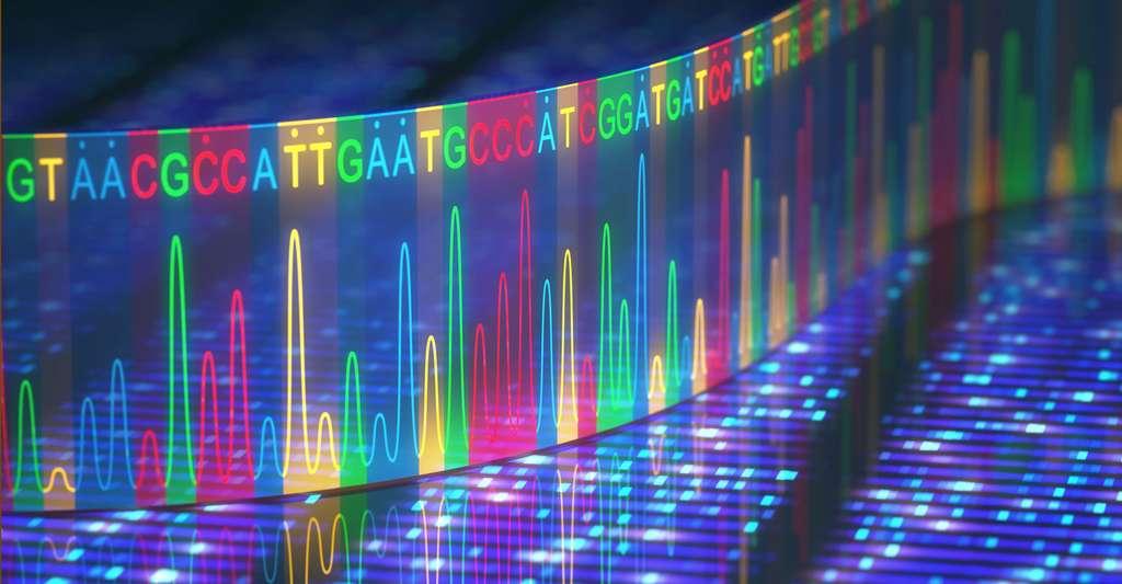 L'ADN : un outil de premier choix en criminologie. © Ktsdesign, Fotolia