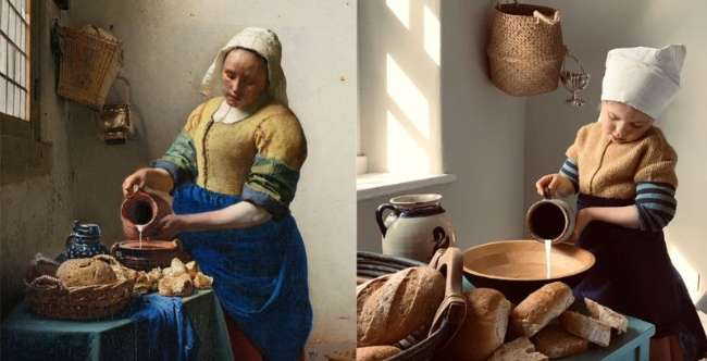 This revisited dairy from Vermeer is stunning!  © Getty