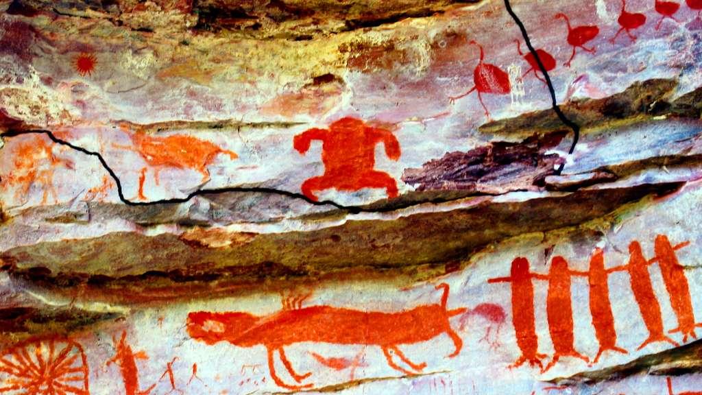 Peintures rupestres brésiliennes