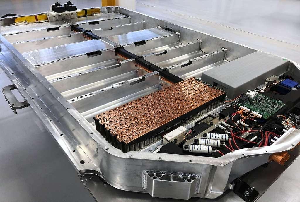 La partie batterie et moteur électrique est l'un des domaines d'expertise de Dyson qui a indiqué vouloir capitaliser sur ses travaux avec le SUV pour d'autres projets. © Dyson