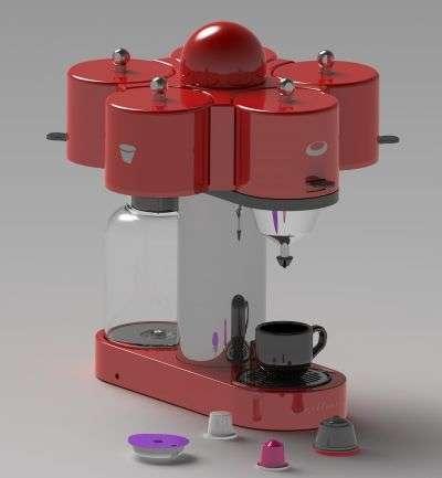 Le Manège à café. © Concours Lépine