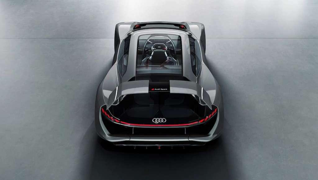 L'Audi AI: Race vue de dos. Impressionnante ? © Audi