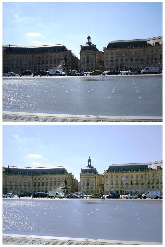 Bordeaux : place de la Bourse. © J.-P. Louvet
