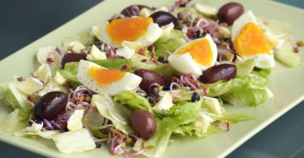 Assiette végétarienne. © Greekfood Tamystika, DP