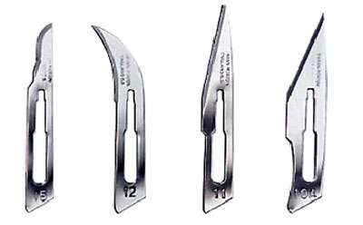 Lame bistouris : des couteaux un peu particuliers !