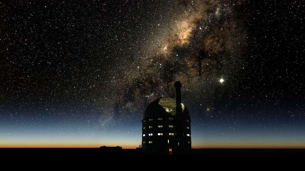 Le grand télescope d'Afrique australe
