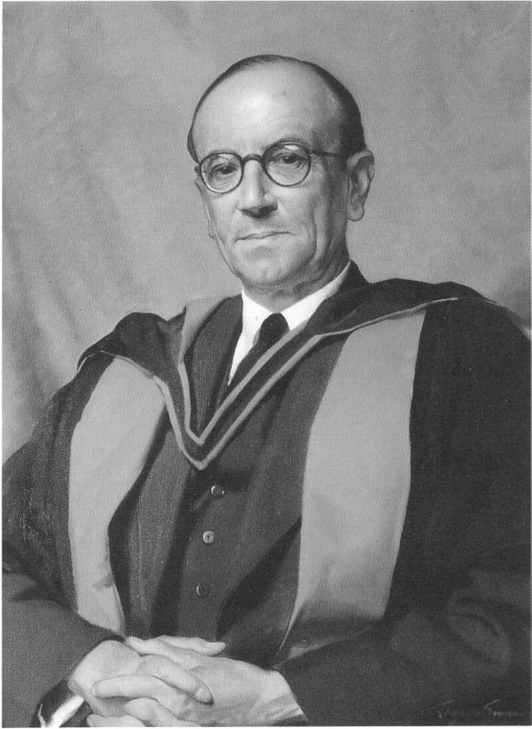 Le prix Nobel de physique James Chadwick a découvert le neutron en 1932. Décédé en 1974, il a ainsi pu assister à la maîtrise de l'énergie nucléaire et à la montée en puissance de la technique de diffusion des neutrons. © Gonville and Caius College