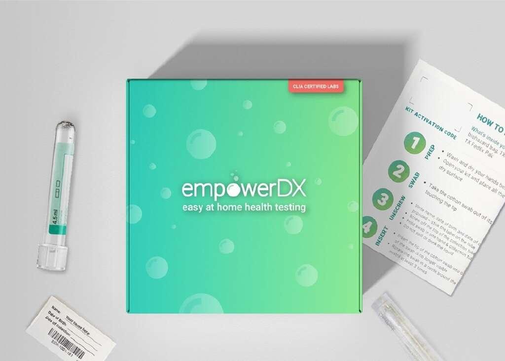 La méthode d'auto-prélèvement est déjà autorisée et commercialisée aux États-Unis depuis le 19 octobre sous le nom EmpowerDX kit. © Eurofins Scientific