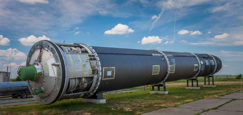 Un missile russe Satan. © Vadim Tolbatov