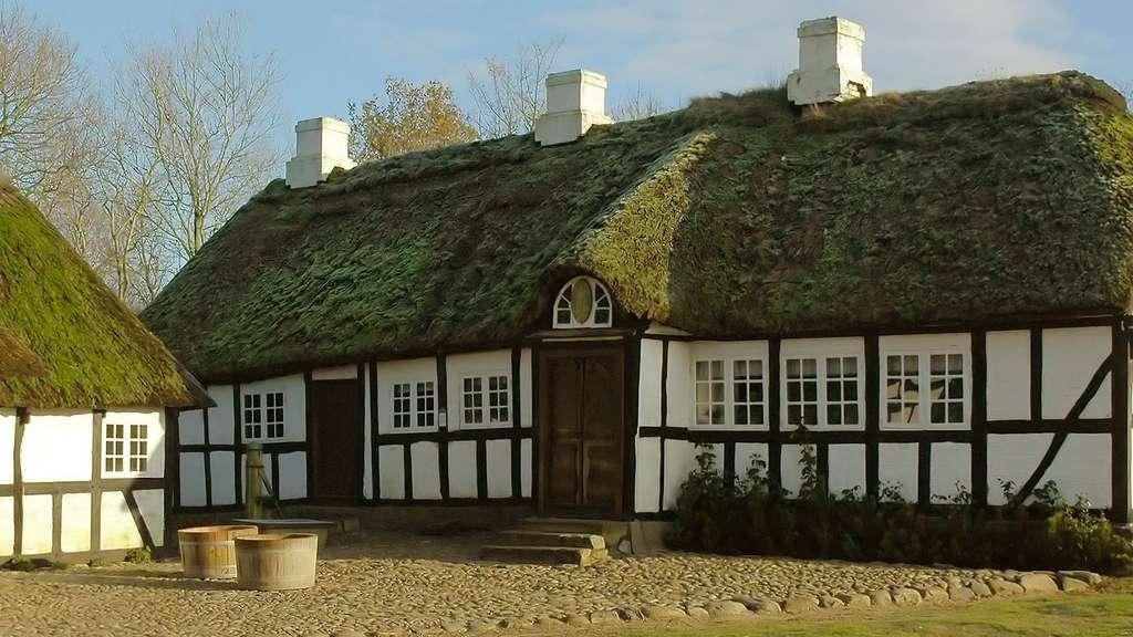 Hjerl Hede, le village danois reconstitué
