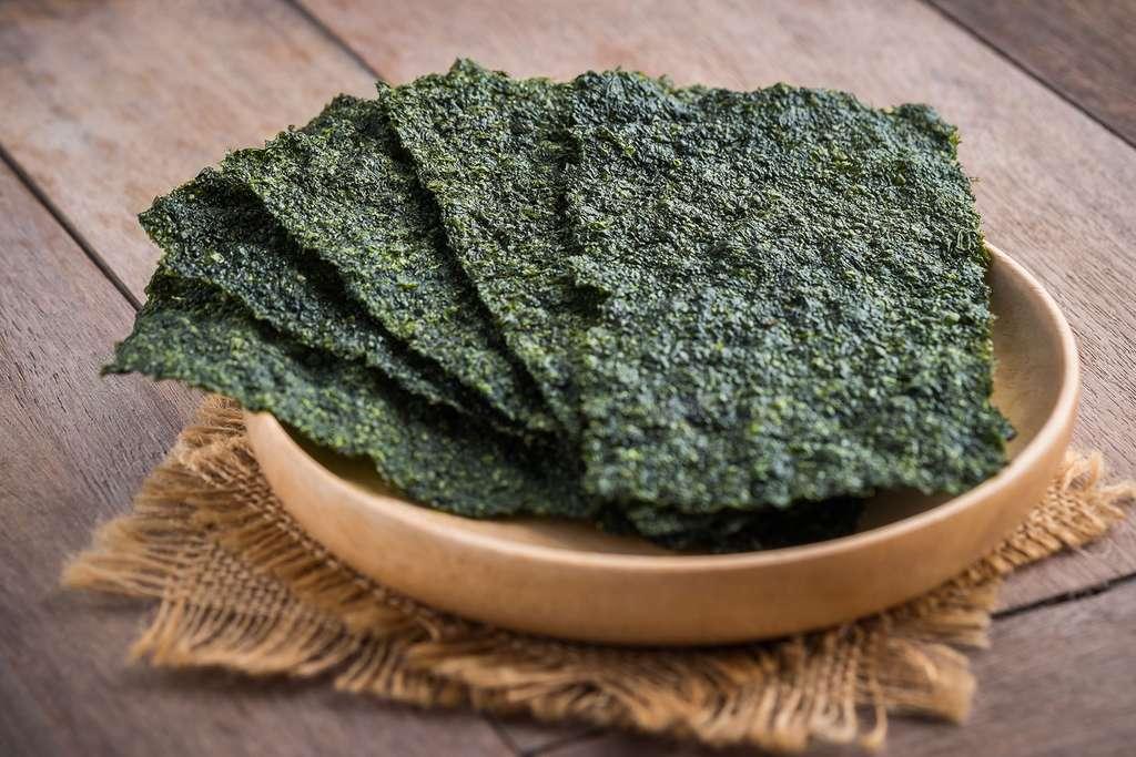L'algue nori, riche en protéines